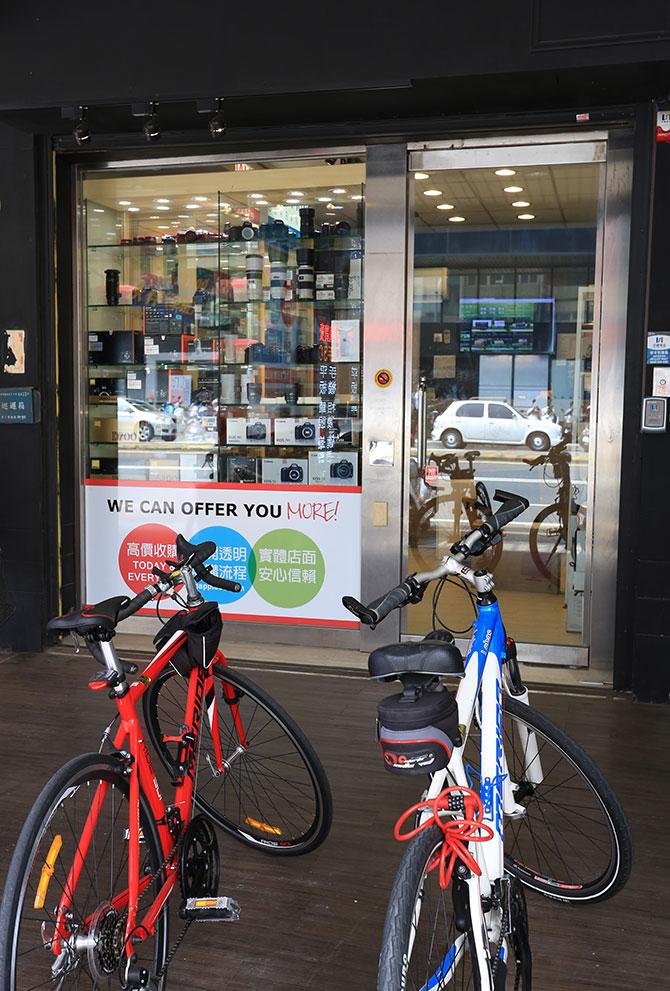 響應環保 二手手機相機回收 只用買賣方式 腳踏車不用一滴油 愛護地球